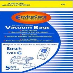 Bosch Type G vacuum bags
