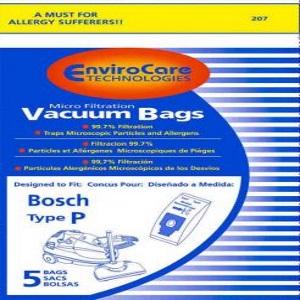 Bosh Type P Vacuum Bags
