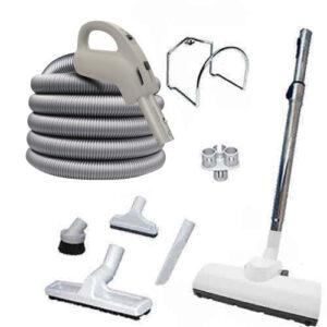 Central vacuum attachment kit