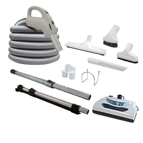 central vacuum complete kit