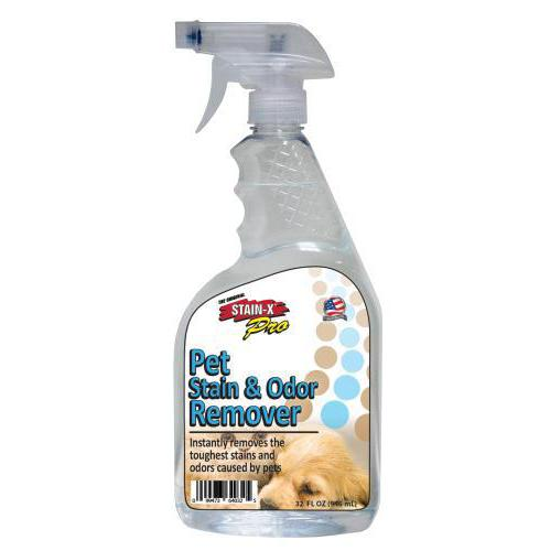 STAIN-X PRO PET STAIN & ODOR REMOVER 32 OZ