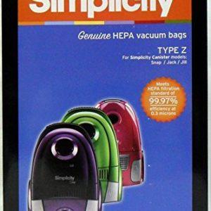 Simplicity Type Z Vacuum Bags