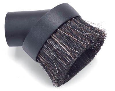 Vacuum dusting brush