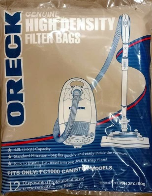 Oreck Quest MC1000 Vacuum Bags1
