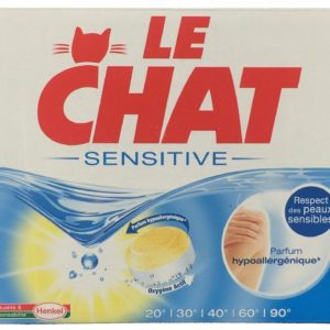 Le Chat Sensetive laundry detergent
