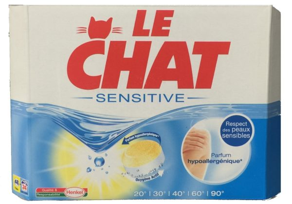 Le Chat Sensetive laundry detergent
