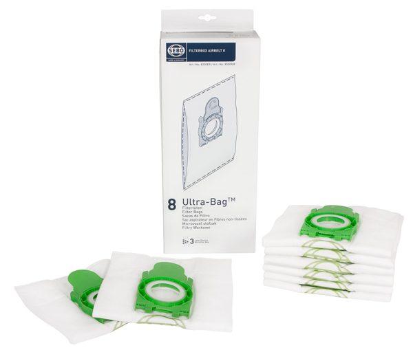 SEBO E series vacuum bags