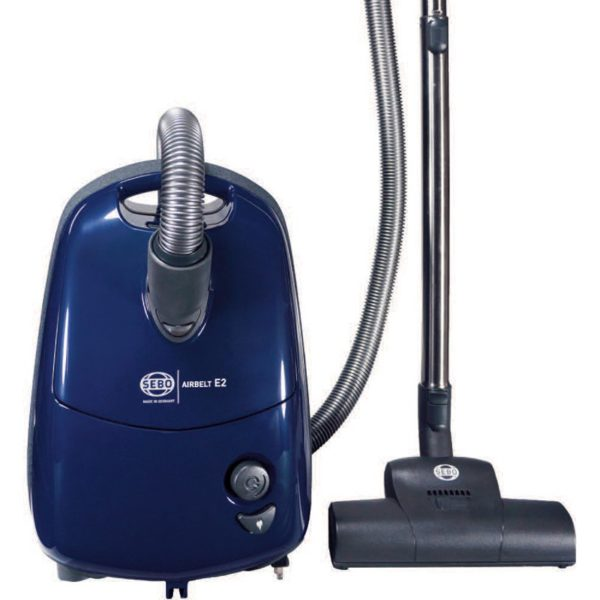 SEBO E2 canister vacuum