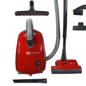 SEBO E3 Canister Vacuum red